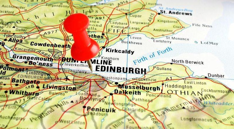 Cartina Stradale Della Scozia.Come Arrivare A Edimburgo Wanderworld